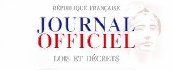 26 septembre 2015 : Journal Officiel n°0223