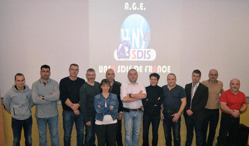 1ère Assemblée Générale de l'UNSA-SDIS de France