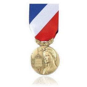 [Récompenses] Arrêté de la médaille de la sécurité intérieure - 2018