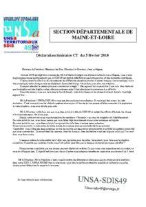 thumbnail of déclaration liminaire CT 5 février 2018