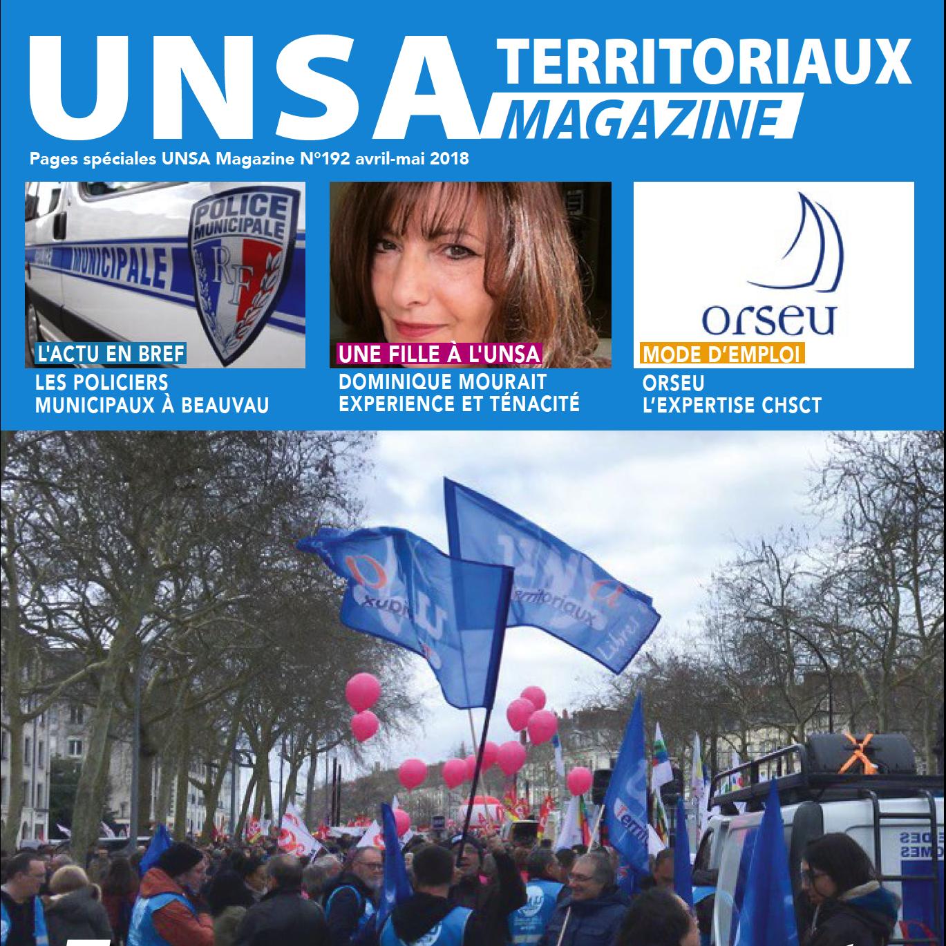 [UNSA Territoriaux Magazine] Découvrez le numéro 192