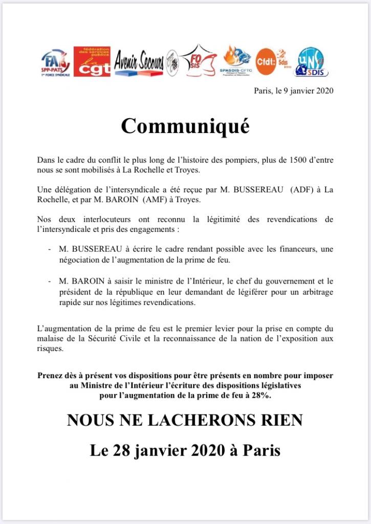 Manifestation le 28 janvier à Paris