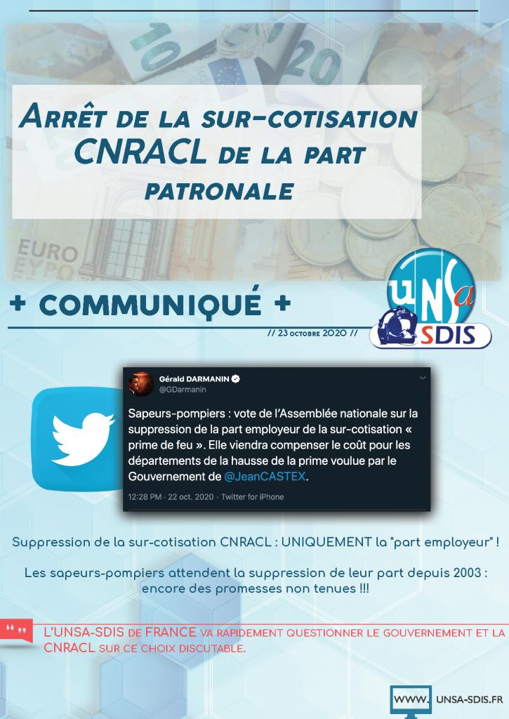 [CNRACL] Sur-cotisation : promesse non-tenue !