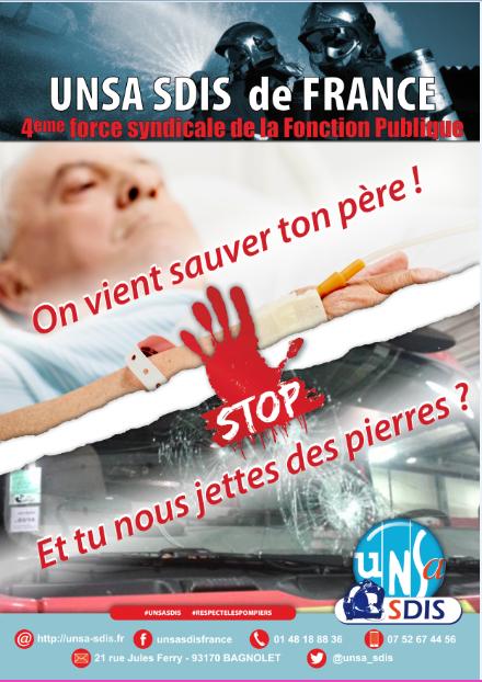 [TRACT] Halte violence SP UNSA - On vient sauver ton père !